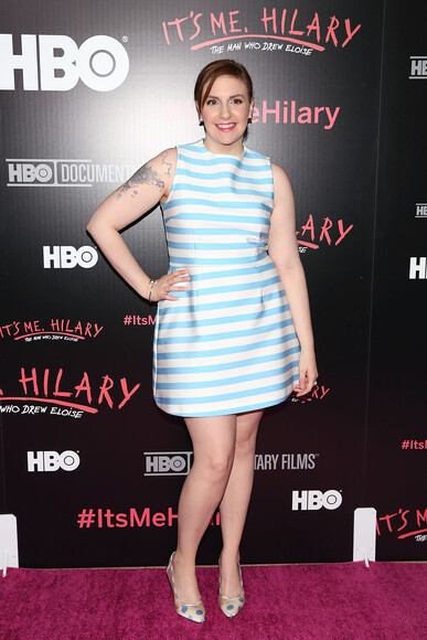 Lena Dunham  Body Measurements 2019